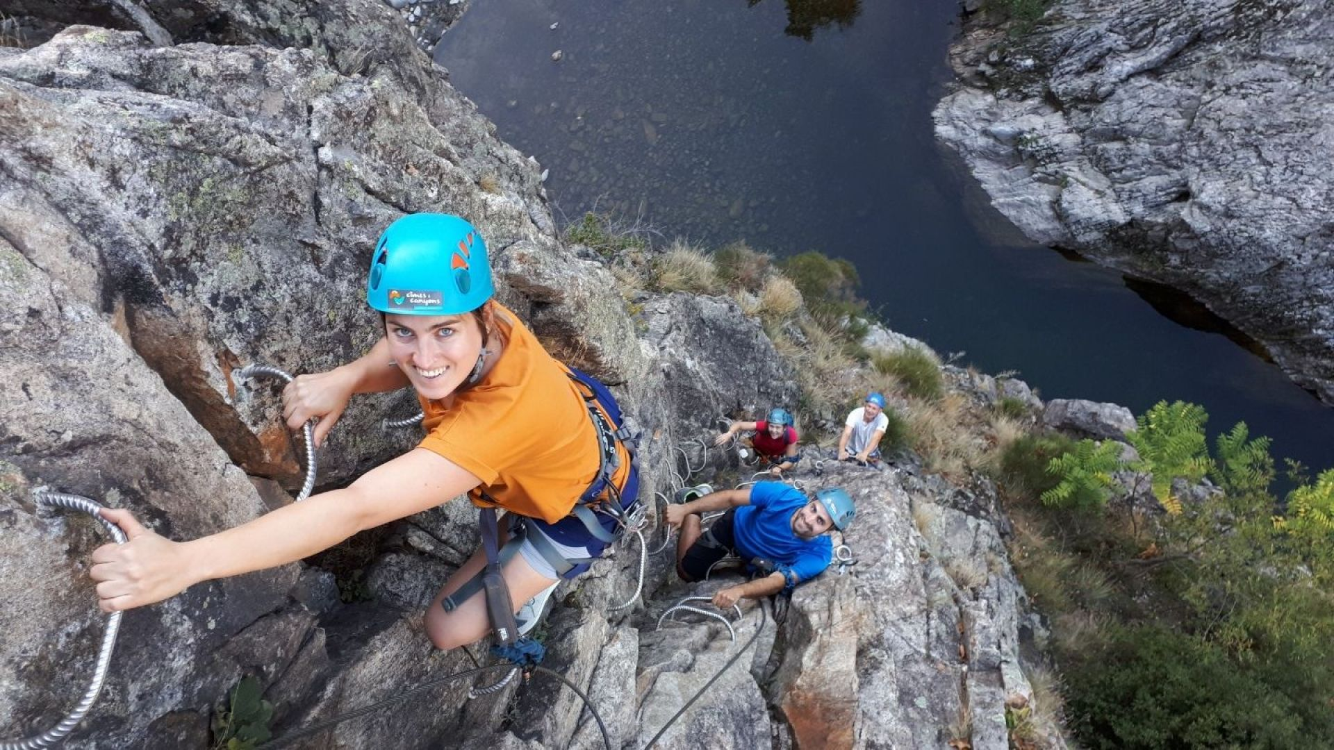 Ardeche Via Ferrata pont du diable - Cimes & Canyons