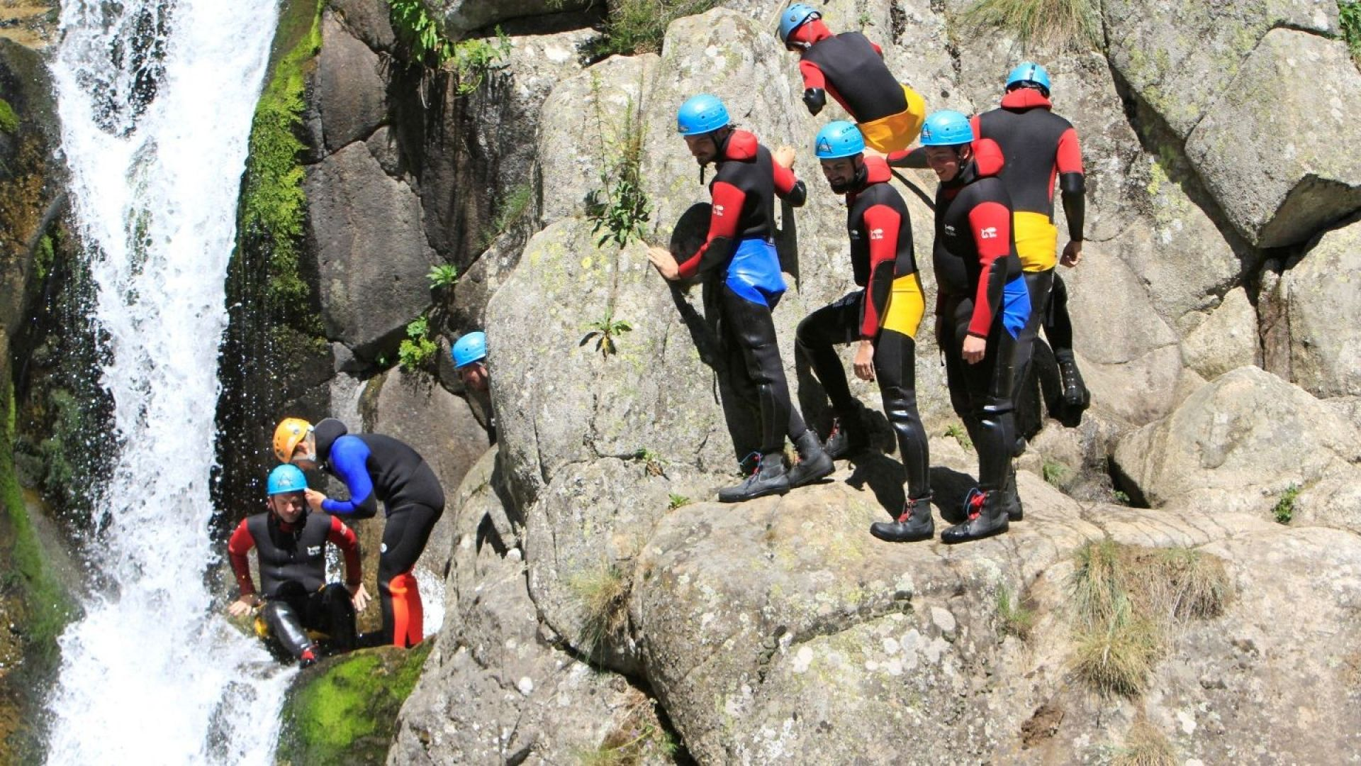 Canyoning Ardeche canyon haute besorgues - Cimes & Canyons.JPG